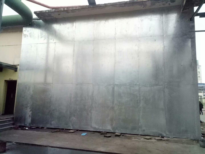 非保温防爆墙